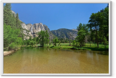 Poster in Cornice Yosemite Falls