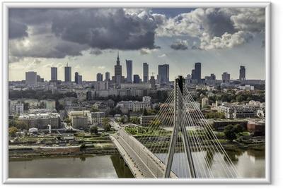 Plakaty Warszawa Panoramy Miast Pixers żyjemy By Zmieniać