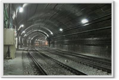 Poster i Ram Tom Subway Tunnel