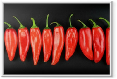 Poster i Ram Red hot chili pepper