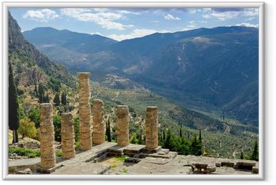 Delphi, Greece Framed Poster
