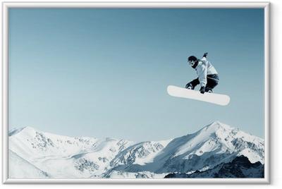 Snowboarding Framed Poster