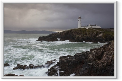 Fanad Head Lighthouse Framed Poster