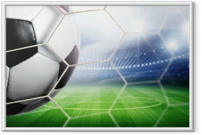 Poster en cadre Stade Goal