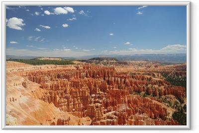 Poster en cadre Overlook du parc national de Bryce Canyon, Utah - Amérique