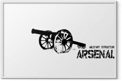 Poster en cadre Arsenal F.C.