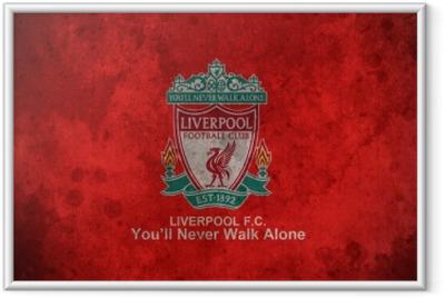Gerahmtes Poster Liverpool F.C.