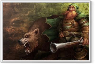 Poster en cadre World of Warcraft