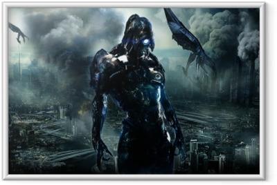 Plakat w ramie Mass Effect