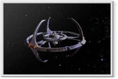Poster i Ram Star Trek
