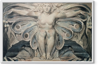 Plakat w ramie William Blake - Personifikacja grobu