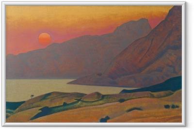 Nicholas Roerich - Monhegan. Maine Framed Poster