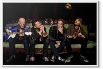 Poster en cadre Coldplay