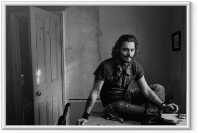 Poster in Cornice Johnny Depp