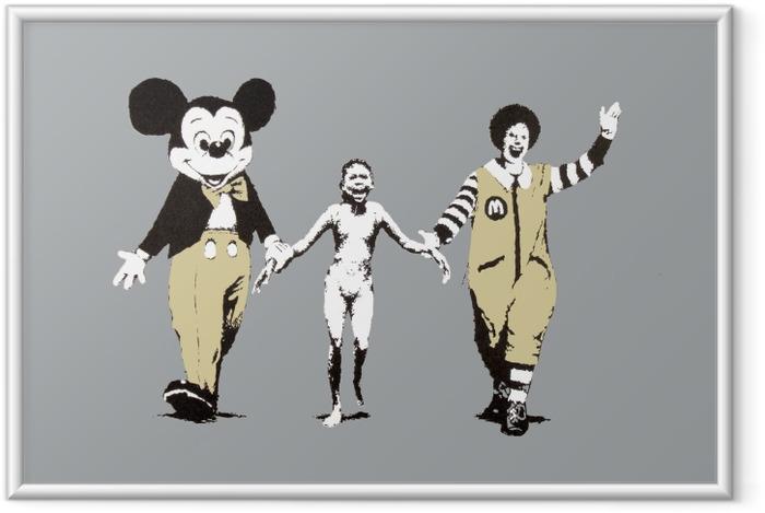 Plakat w ramie Banksy - Tematy