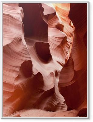 Gerahmtes Poster Lower Antelope Canyon