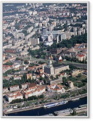 Innrammet plakat Szczecin