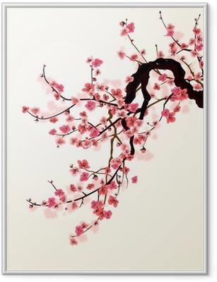 Plakat w ramie Sakura