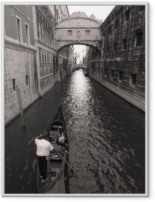Gerahmtes Poster Venedig