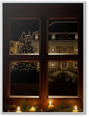 Gerahmtes Poster Weihnachten in Bonn