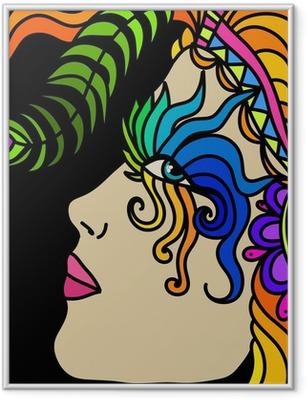 Poster en cadre Masque de carnaval