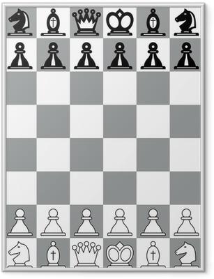 Poster i Ram Schackbräde
