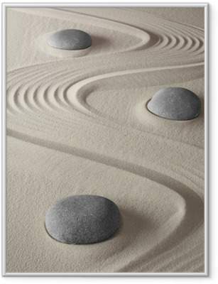 Poster en cadre Jardin zen - iStaging