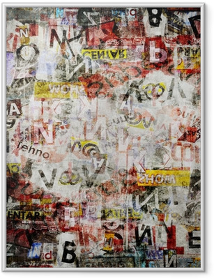 Grunge textured background Framed Poster