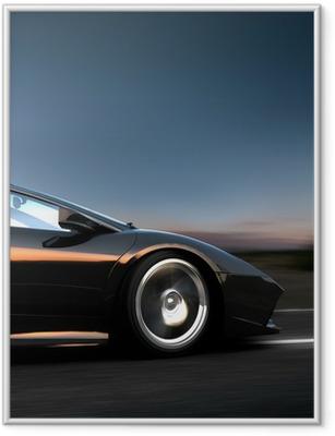 italian sportscar Framed Poster