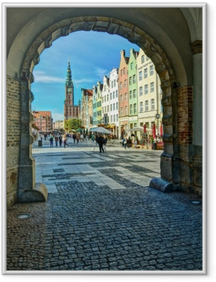 Poster en cadre Gdansk-Old-Town-6