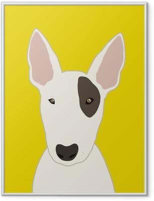 Bull Terrier Framed Poster