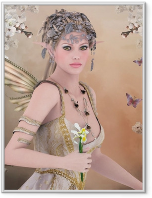 Spring queen Framed Poster