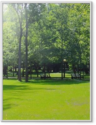 Gerahmtes Poster Park