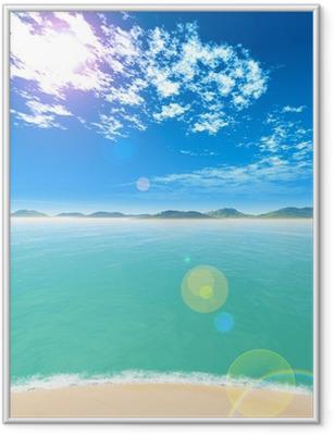 海 Framed Poster