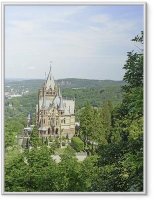 Gerahmtes Poster Märchenschloss