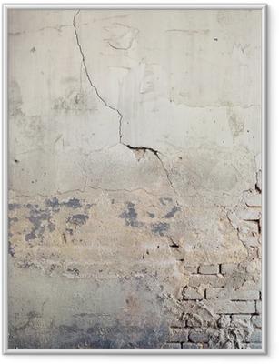 Plakat w ramie Ściana w tle