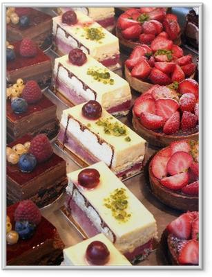 Poster in Cornice Torte e pasticceria