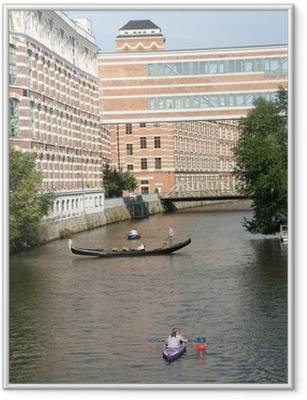 Gerahmtes Poster Leipzig Elster Lofts