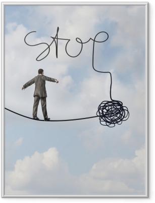 Çerçeveli Poster Stop