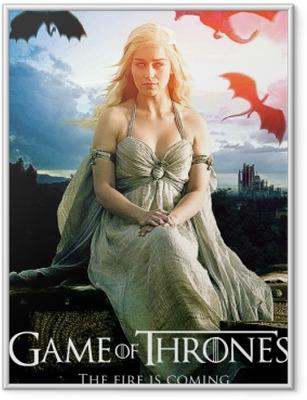 Poster in Cornice Daenerys Targaryen
