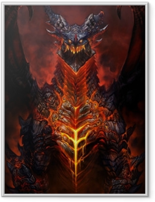 Ingelijste Poster World of Warcraft