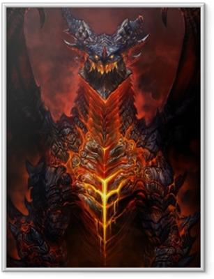 Poster i Ram World of Warcraft