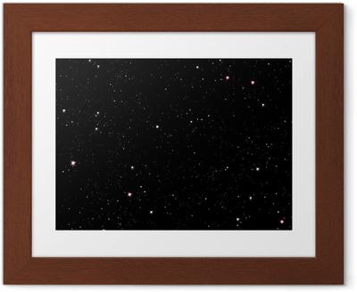 Póster Enmarcado Noche estrellada