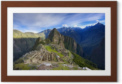 Ingelijste Poster Machu Picchu