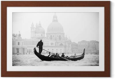 Póster Enmarcado Venecia