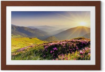 Poster en cadre Paysage de montagne