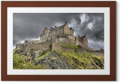 Ingelijste Poster Edinburg Castle