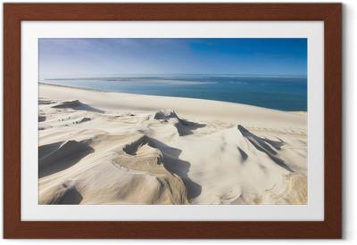 Ingelijste Poster Dune du Pyla bij Arcachon
