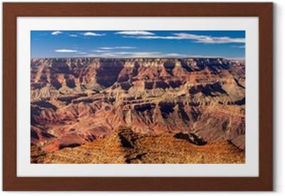 Plakat w ramie Panoramiczny Grand Canyon, USA