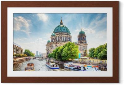 Póster com Moldura Berlin Cathedral. Berliner Dom. Berlin, Germany